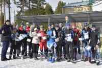 Участники-и-организаторы-соревнований-по-лыжным-гонкам